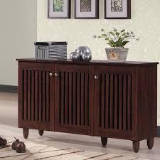Storage Furniture Baxton Studio Glidden Dark Brown Wood Tall Storage Cabinet 28862