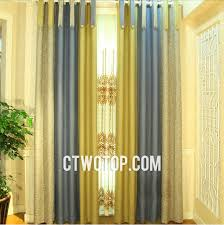 Heavy Grey Curtains Luxury Heavy Blackout Best Quality Gold Gray And Brown Linen Curtains