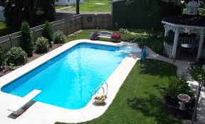 Landscaping Around A Pool by Rectangle Inground Swimming Pool Kits Want To Build Me A Pool