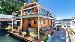 floating tiny home amazing ocean backyard small house design