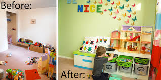 Playrooms Playroom Reveal Before And After Shwin And Shwin