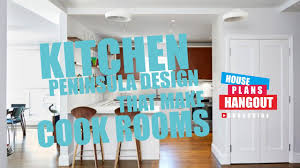 Kitchen Peninsula Design Kitchen Peninsula Designs That Make Cook Rooms Hd Youtube