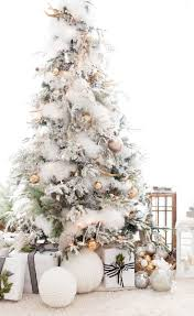 Diy Christmas Tree Pinterest Best 25 White Christmas Trees Ideas On Pinterest White