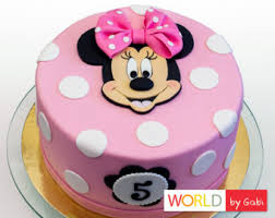 Red Minnie Mouse Cake Decorations Minnie Mouse Cake Topper Fondant