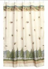 Adirondack Shower Curtain by Excellent Decoration Pine Cone Shower Curtain Innovational Ideas