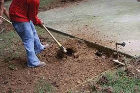 How To Lay Patio Stones by Build A Patio With Composite Pavers Extreme How To