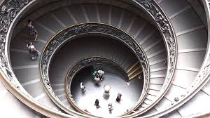 Spiral Staircase by Vatican Museum Spiral Staircase Youtube