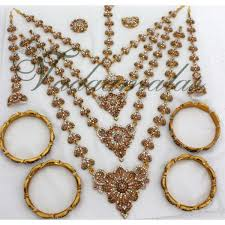 bridal jewelry set indian wedding ornaments jewellery set