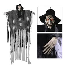 amazon com 6 ft animated halloween props yunlights voice