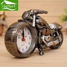 cool clocks desk family decoration alarm clock classic motorcycle