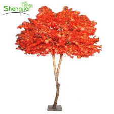 top quality indoor decorative large plastic artificial maple