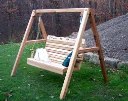 Patio Swing Frame by Patio Swing With Stand