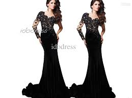 All Black Prom Dress One Shoulder Black Lace Prom Dress 2013 New Fashion Sheath Satin