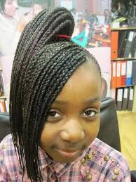 braided hairstyles for little black