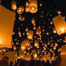 25 flying paper lanterns ideas chinese