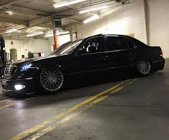 slammed lexus ls430 ls430 on topsy one