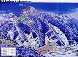 Mt Snow Trail Map Nozawa Onsen Piste Map Trail Map