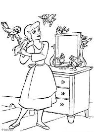 beautiful cinderella coloring pages hellokids