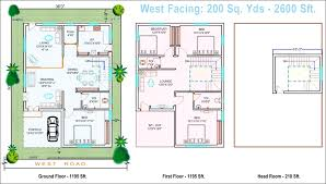 North Facing Floor Plans North Facing House Plans 20 X 60 Free Home Design 20x30 Duplex