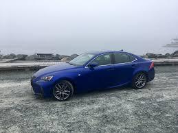 sporty lexus blue review 2017 lexus is 350 awd f sport