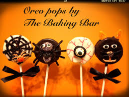 Halloween Cake Pops Recipe Halloween Oreo Pops Oreo Pops Pinterest Oreo Pops Oreo And