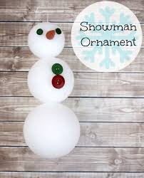 10 frosty snowman ornaments for you to make my unentitled