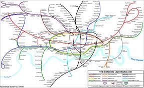 map underground underground 14 alternative maps news the guardian