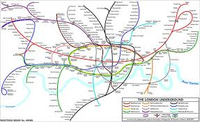 map of the underground in underground 14 alternative maps news the guardian
