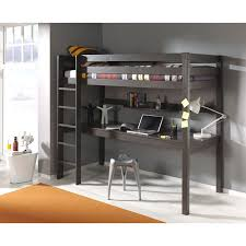 lit enfant bureau lit enfant superposé bureau pino taupe