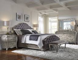 King Sized Bed Set Rhianna Upholstered Bed In Platinum Pulaski Home Gallery