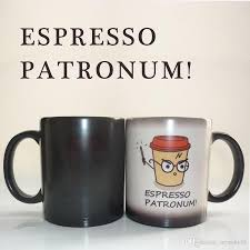 espresso patronum harry potter mug sensitive ceramic coffee tea