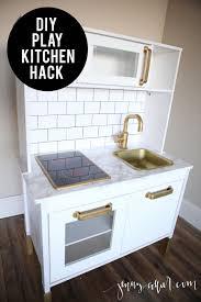 jeux cuisines diy ikea play kitchen hack salles de jeux cuisines enfant et jeu