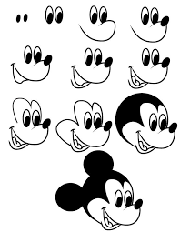 coloring marvelous mikey mouse drawing mickey 0 draw