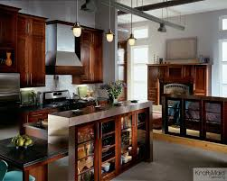 Kraft Maid Kitchen Cabinets Kraft Maid For A Traditional Kitchen With A Island With Legs And
