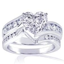heart shaped wedding rings corona corazón rosa accesorios ring bling and