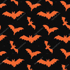 halloween bat pattern u2014 stock vector goosefrol 87120980