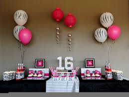 sweet 16 birthday party ideas decorating of party