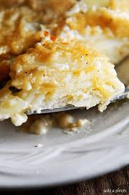scalloped potatoes recipe add a pinch
