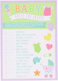 guessing baby shower games home design inspirations