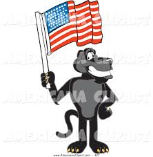 jaguar clipart royalty free flag day stock americana designs
