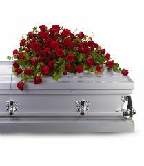 casket sprays reverence casket spray by teleflora in pasadena ca the