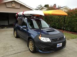 Subaru Forester 2014 Crossbars by 09 U002713 Kayak Carrying Subaru Forester Owners Forum
