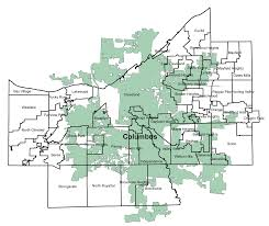 Central Ohio Zip Code Map by Columbus Is Triple The Size Of Cleveland In Area Answers To That