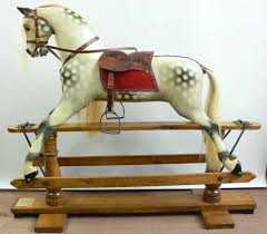 Rockin Horse Barn Ayres Rocking Horse Restored By Classic Rocking Horses For The