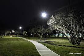 led area site lighting houston lighting for paths parks
