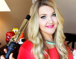 easy curling wand for permed hair how to summer relaxed waves hair tutorial hot tools curling