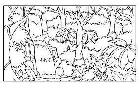 preschool jungle coloring pages jungle coloring page cartoon jungle animals coloring pages book