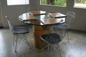 dining room design pedestal table base for glass top granite top