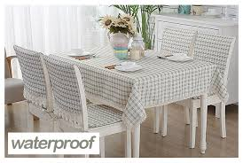 linen table cover fabric square tarpaulins oilcloth tablecloth
