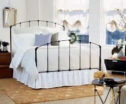 really beautiful black iron bed frame queen bedroomi net